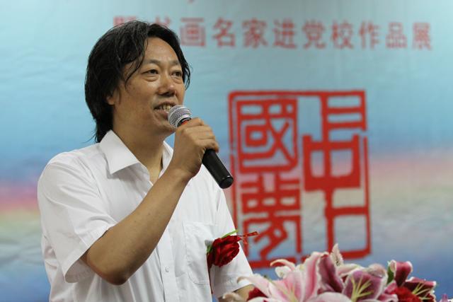中国文联美术艺术中心主任丁杰_看图王