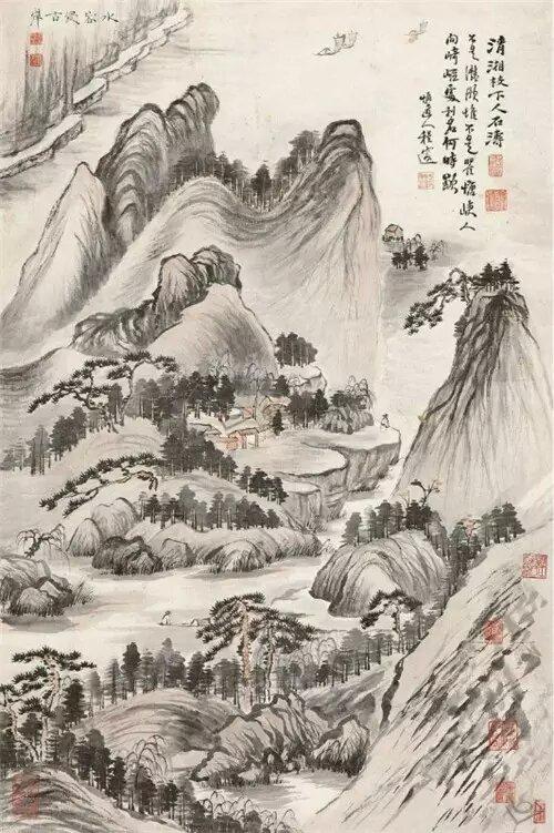 石涛  水容侵古岸67c9384_proc